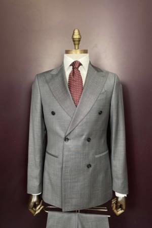 Euroboutique-Rx-Grey double breasted suit