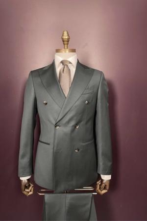 Euroboutique-Rx-Light green double breasted suit