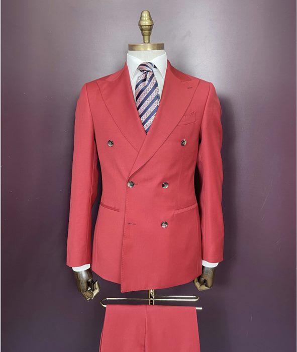 Euroboutique-Rx-Red double breasted suit